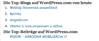 Wordpress Slovakia