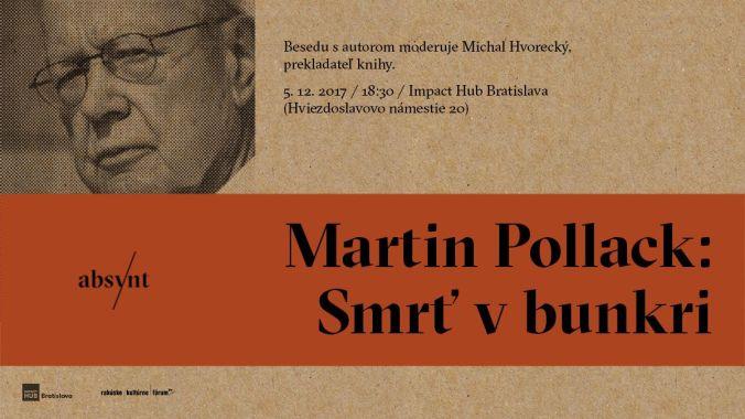 martin pollack smrt v bunkri absynt